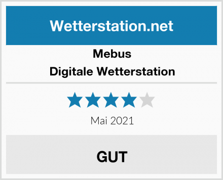 Mebus Digitale Wetterstation Test