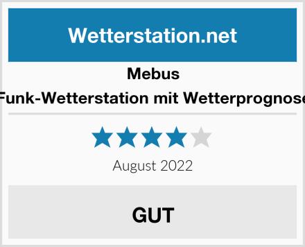 Mebus Funk-Wetterstation mit Wetterprognose Test