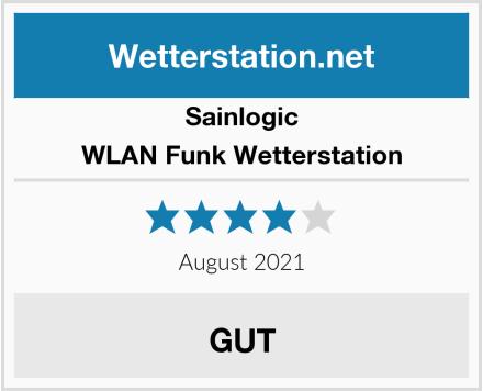 Sainlogic WLAN Funk Wetterstation Test