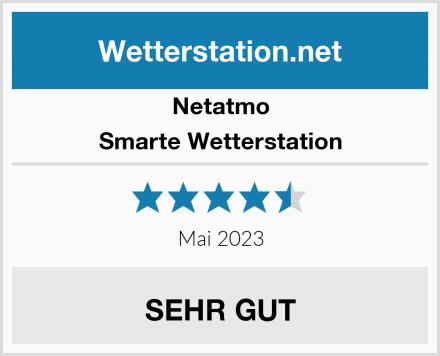 Netatmo Smarte Wetterstation Test