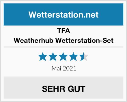 TFA Weatherhub Wetterstation-Set Test