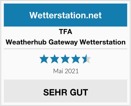 TFA Weatherhub Gateway Wetterstation Test