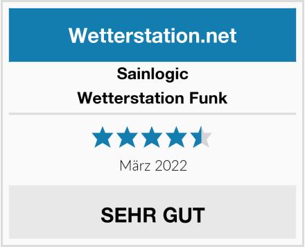 Sainlogic Wetterstation Funk Test