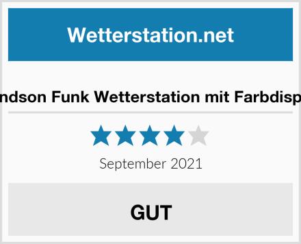 Bandson Funk Wetterstation mit Farbdisplay Test