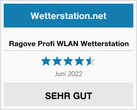 Ragove Profi WLAN Wetterstation Test