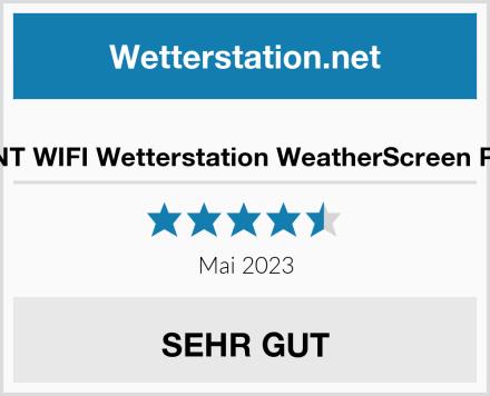 DNT WIFI Wetterstation WeatherScreen Pro Test