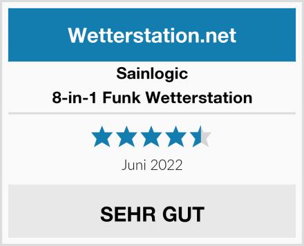 Sainlogic 8-in-1 Funk Wetterstation Test