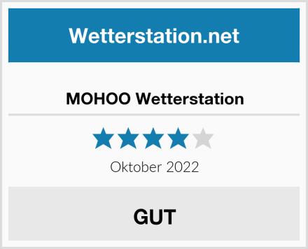 MOHOO Wetterstation Test
