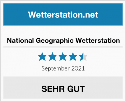National Geographic Wetterstation Test