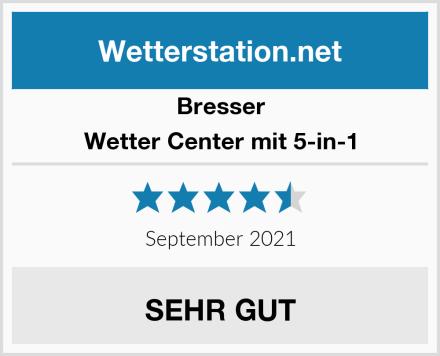 Bresser Wetter Center mit 5-in-1 Test
