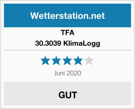 TFA 30.3039 KlimaLogg Test