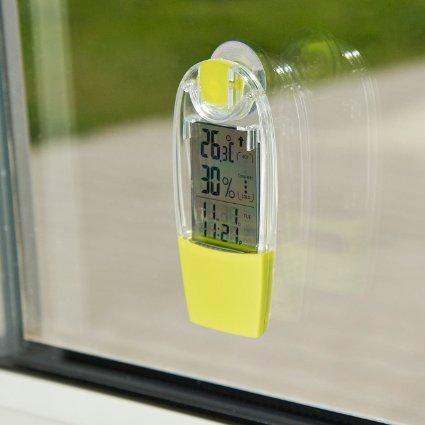 Infactory solar fenster hygro thermometer wetterstation for Fenster test