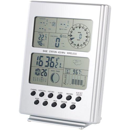 FreeTec Wetterstation mit Funk-Uhr