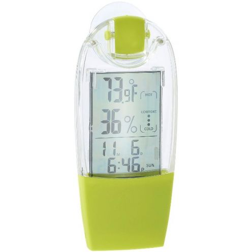Infactory Solar-Fenster-Hygro-Thermometer