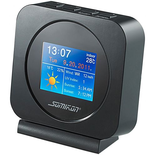 Somikon Internet-Wetterstation mit Farb-TFT